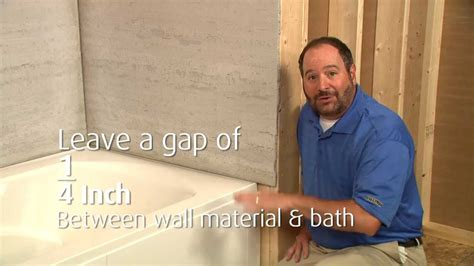 alcove bathtub installation lawson bath installation youtube