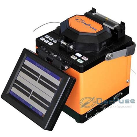 Go Fusion Splicer Fujikura Fsm 60s fiber fusion splicer decfuse dec36 with fiber cleaver from