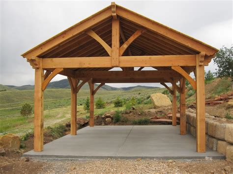 20 Super Fast Before After Backyard Makeovers Western Timber Frame Pergola Kits