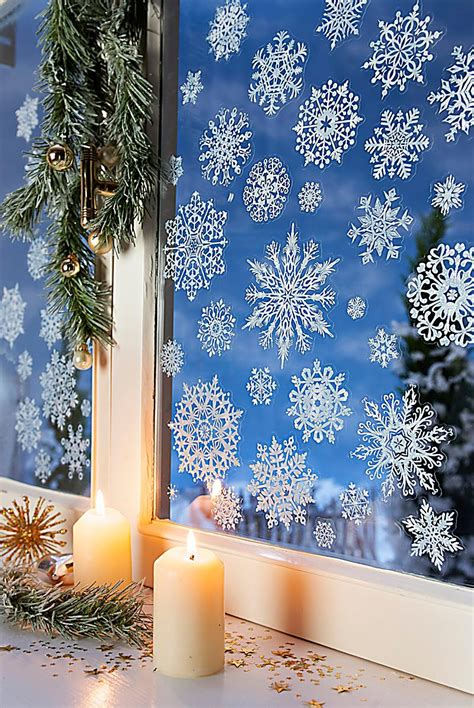 Fenstersticker Winter fenstersticker winter 54 st 252 ck jetzt bei weltbild ch