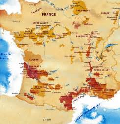 France Wine Regions Map by French Wine Map Viewing Gallery