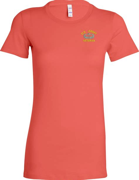 custom embroidery shirts custom embroidered u s army ladies t shirt