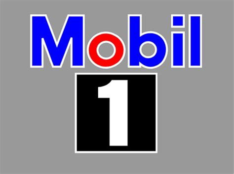 Sticker Logo Mobil mobil one lookup beforebuying