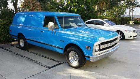 1968 chevrolet truck 1968 chevrolet c 10 panel truck classic chevrolet c 10