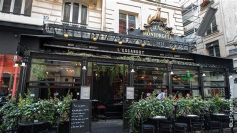 l post diner menu restaurant l escargot montorgueil 224 paris 75001