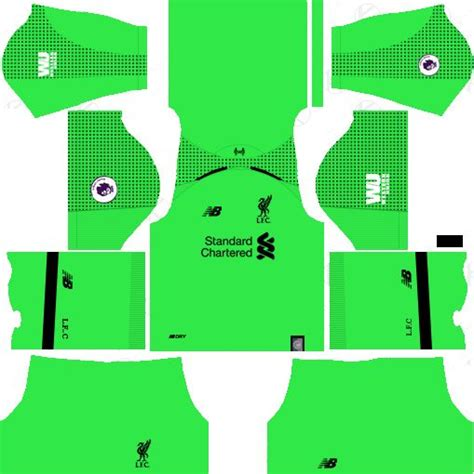 goalkeeper liverpool kit   dream league soccer kits