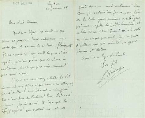 Exemple De Lettre Famille Louis H 233 Mon Introduction Page 2