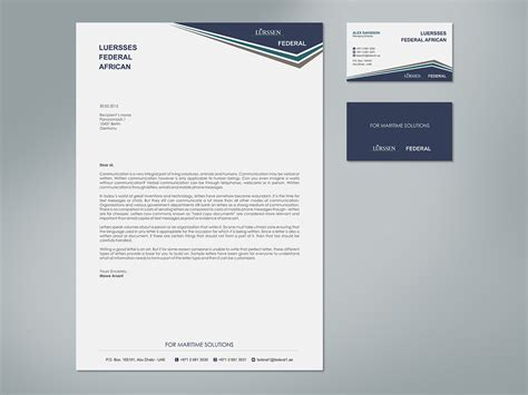 planning and layout of business letter elegant playful business letterhead design for a company