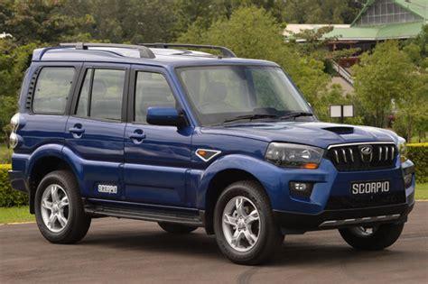 mahindra scorpio new model 2012 price new mahindra scorpio vs rivals price comparison car