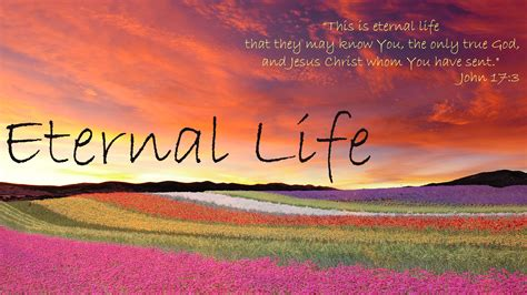 Is Eternal eternal a christian perspective thoughts of god