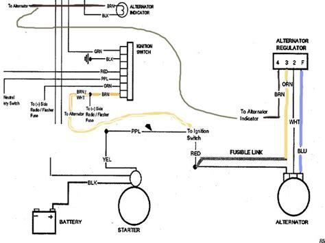 happen     alternator wiring diagram   installed  alternator
