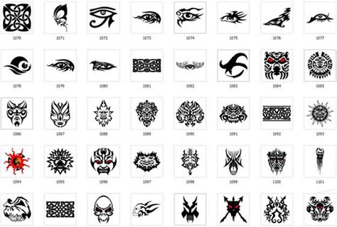 collection of over 900 tattoo designs and patterns