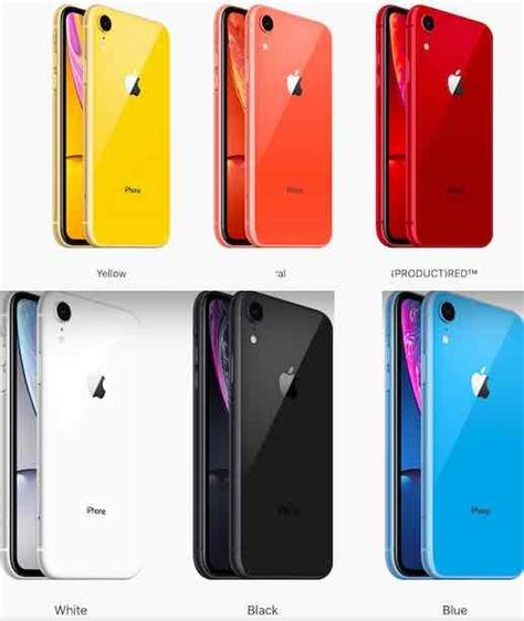 iphone xr colors the available iphone xr colors techcheater