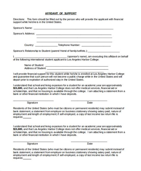 Affidavit sample to support marriage equality