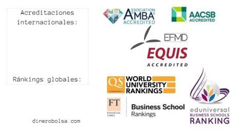Una Mba Ranking by Acreditaciones Y Rankings Para Seleccionar Una Top