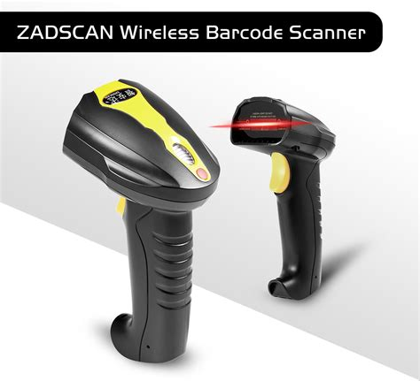 best wireless barcode scanner dealsmachine zadscan bp8150rd wireless barcode scanner