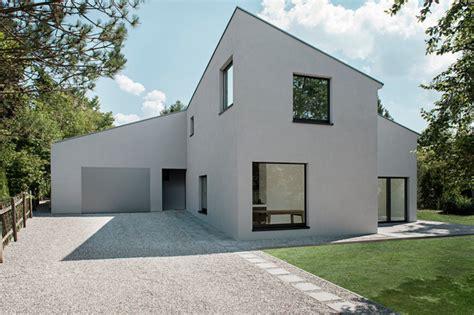 modern haus neubau einfamilienhaus modern haus fassade berlin