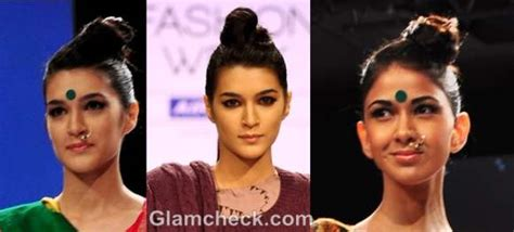topknot hair on indian hasirstyle top knots buns for the grand indian look