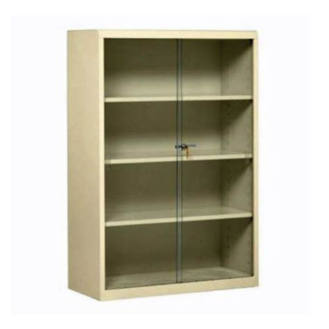 Steel Bookcase With Glass Doors 8804071 Metal Bookcase With Glass Doors