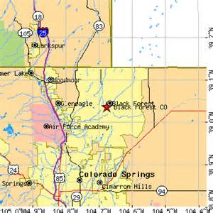 black forest colorado map black forest colorado co population data races