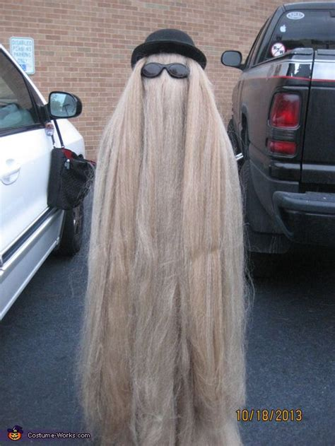 cusion it cousin it addams family costume
