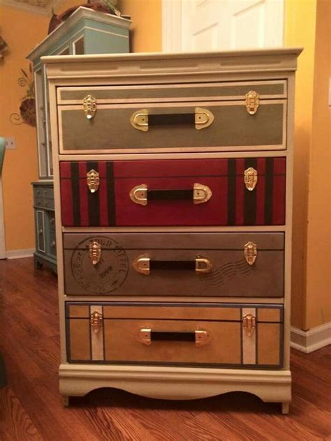 suitcase dresser suitcase dresser travel holidays pinterest diy and