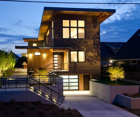 best small house plans residential architecture residence contemporary exterior seattle