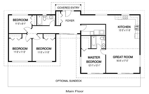 basic house floor plan house plans naturals 4 linwood custom homes