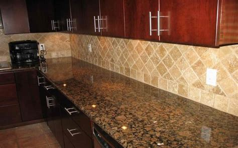 baltic brown granite countertop pictures backsplash baltic brown granite countertops with light tan backsplash