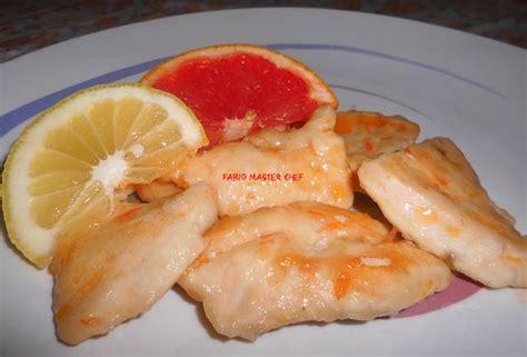 cucinare petto tacchino scaloppine petto di tacchino agli agrumi fabio master chef