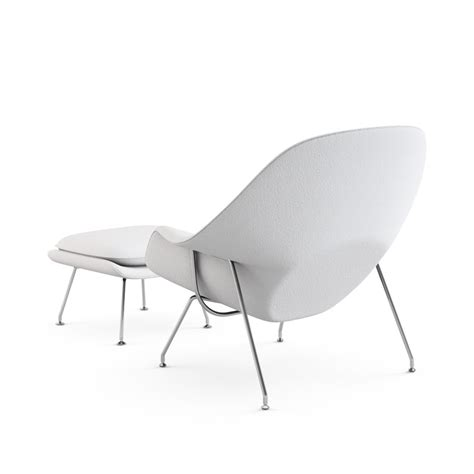 womb chair with ottoman womb chair with ottoman by eero saarinen for knoll up