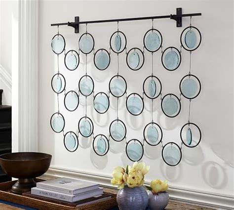 Mirror Murals Walls emery recycled glass wall art pottery barn