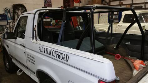 1978 1996 ford bronco 6 point roll cage br12