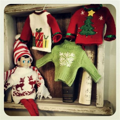 On The Shelf Clothes For Elves by Sweaters Ornaments At Micheals Work For