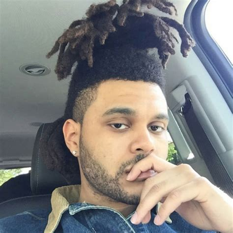 what is up with the weeknds hair the weeknd hair men s hairstyles haircuts 2017