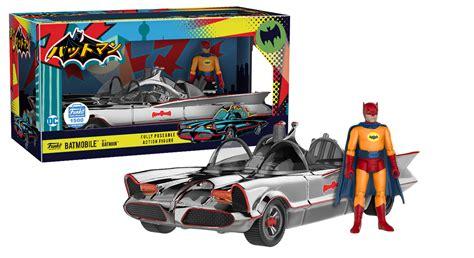 Wheels The Bat Batman Series 2017 Navy Blue funko hints at the 1966 batman variants to come 13th dimension comics creators culture