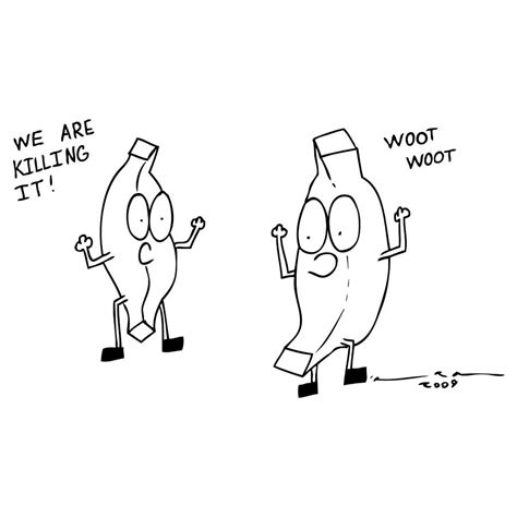 Killin It we are killing it comic drawing by karl