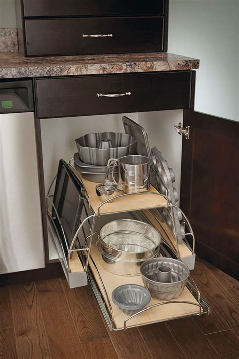 kitchen cabinet interiors base pots and pans pull out cabinet kitchen craft cabinetry
