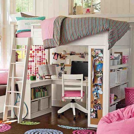 beds for teens gir pink bedroom study loft bed design the amazing of loft