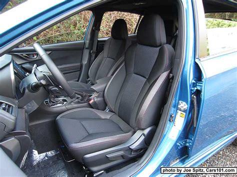 2017 subaru wrx seat covers 2017 subaru impreza interior photos page 5 door hatchback