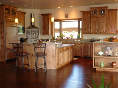 furniture rustic holic accent kitchen with knotty wood cabinet stylishoms kitchen
