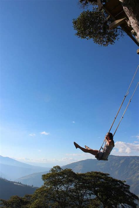 swinging on vacation swinging on top of the world coffeewithasliceoflife