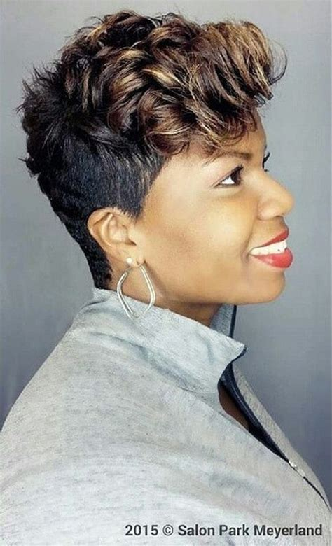 5 captivating short wavy hairstyles for african americans women 50 most captivating african american short hairstyles