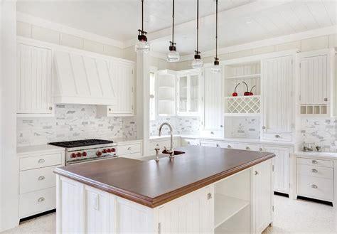 white kitchen island with butcher block top thick butcher block island countertop with sink