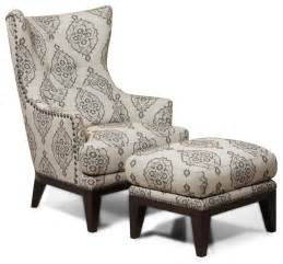 Armchair Lounge Simon Li Fabric Accent Chair And Ottoman Set