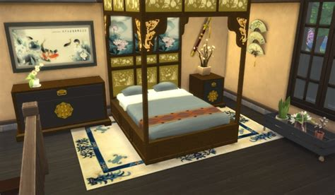 asian beds at leander belgraves 187 sims 4 updates