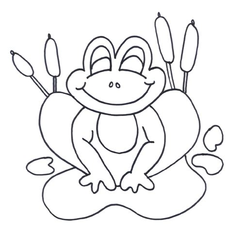 happy frog coloring page frog coloring pages 9742 bestofcoloring com