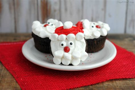 santa claus cupcakes frugal mom eh