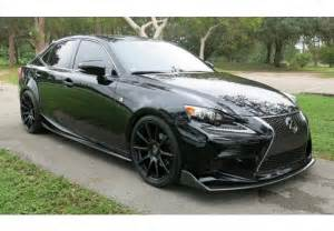seibon lexus is250 is350 tp style carbon fiber side