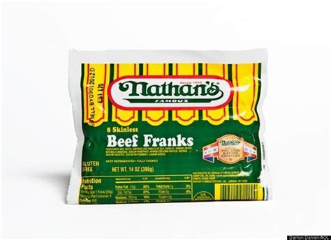 nathan s ingredients best dogs our taste test results huffpost